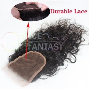Brazilian Water Wave Top Lace Closures