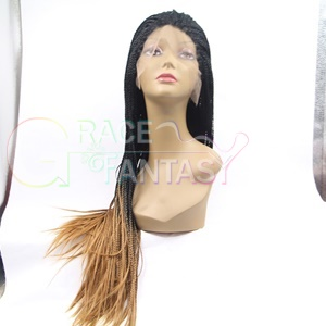 xpress braided lace front wigs