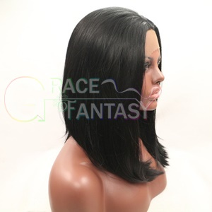 short synthetic lace front wigs