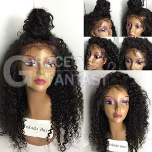 Grace Fantasy Long Glueless Lace Front Synthetic Hair Wigs