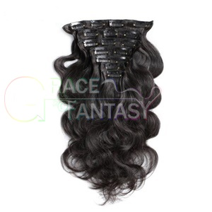 Peruvian Body Wave Clip In Hair