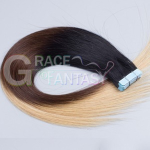 ombre tape hair extension