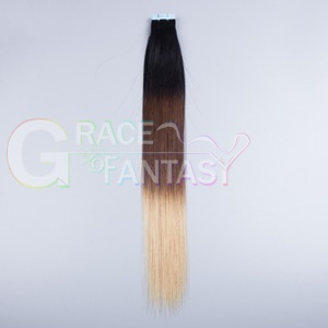 ombre skin weft hair extensions