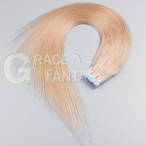 blonde hair extensions skin weft