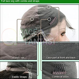 human Lace Front wigs