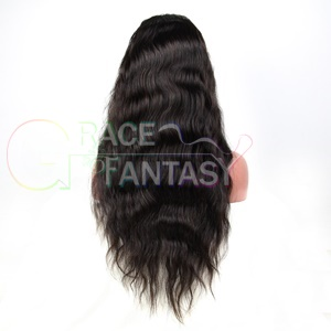 Lace Front Human Hair Wigs Brazilian Remy Hair Wavey Hair Wig With Baby Hair Pre Plucked Bleached Knots