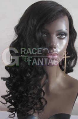 Ombre Full Lace Human Hair Wigs LW wigs deep curly Brazilian Remy Hair Wig With Baby Hair Bleached Knots Pre Plucked