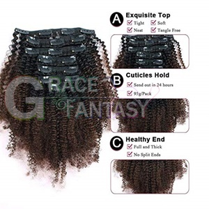Hair clips extensions