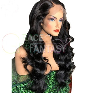 Body Wavy Front Lace Synthetic Wigs