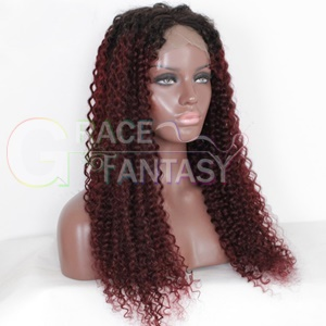 Natural Looking Heat Resistant Wig with Wig Cap