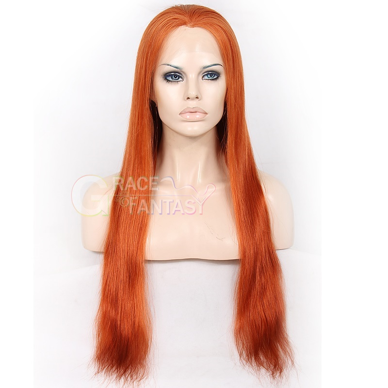 Grace Fantasy #30  Lace Front Human Hair Wigs With Baby Hair For Black Women With Adjustable Straps and Combs Remy Hair Glueless Lace Front Wig Pre Plucked Hair