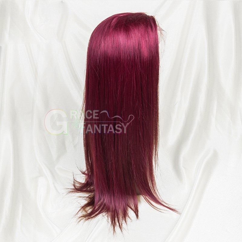 Virgin Human Hair Wigs Pre Plucked Glueless Lace Wigs