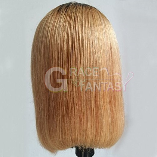 Middle Part Glueless Brazilian Remy Hair