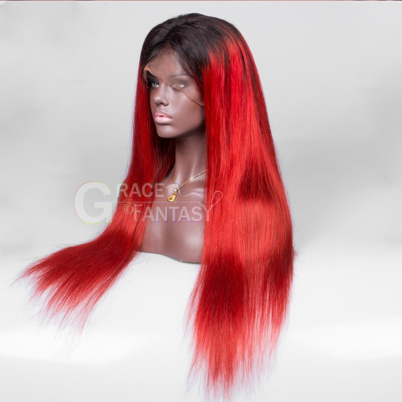 1B Red Two Tone Color