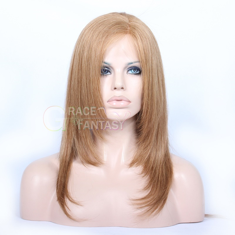 Human Hair Lace Front Wigs With #30 Natural Straight Brazilian Human Hair Wigs Virgin Human Hair Wig with Baby Hair