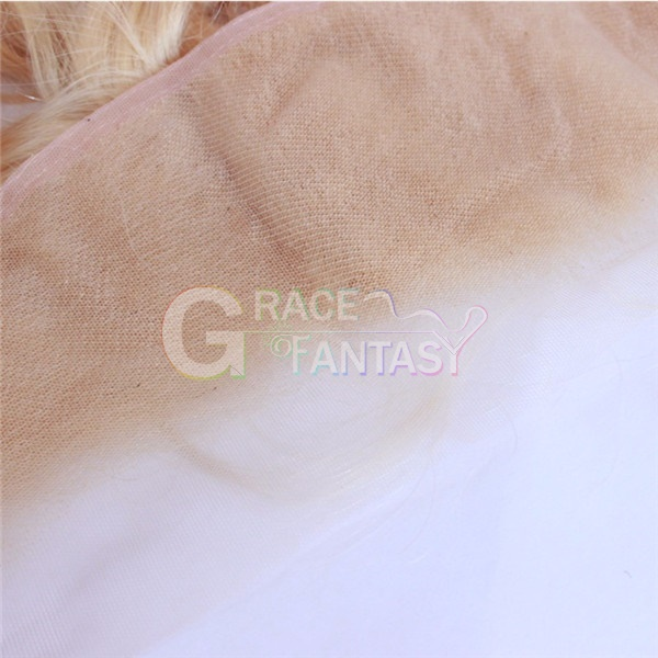 Lace Frontals #613 Blonde Silky Straight with Baby Hair