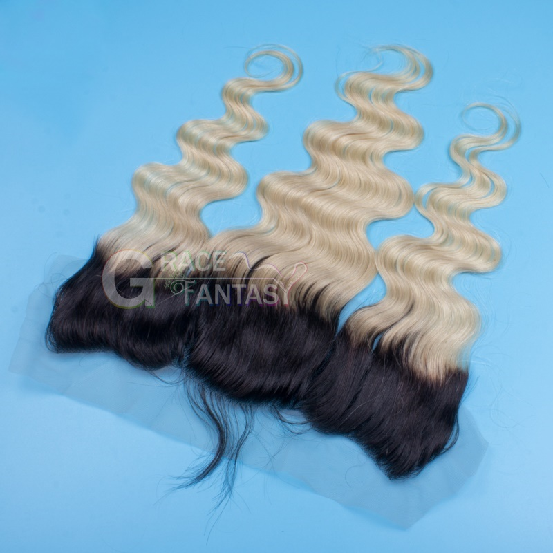 Natural Wave 13x4 With Baby Hair Free Part Bleached