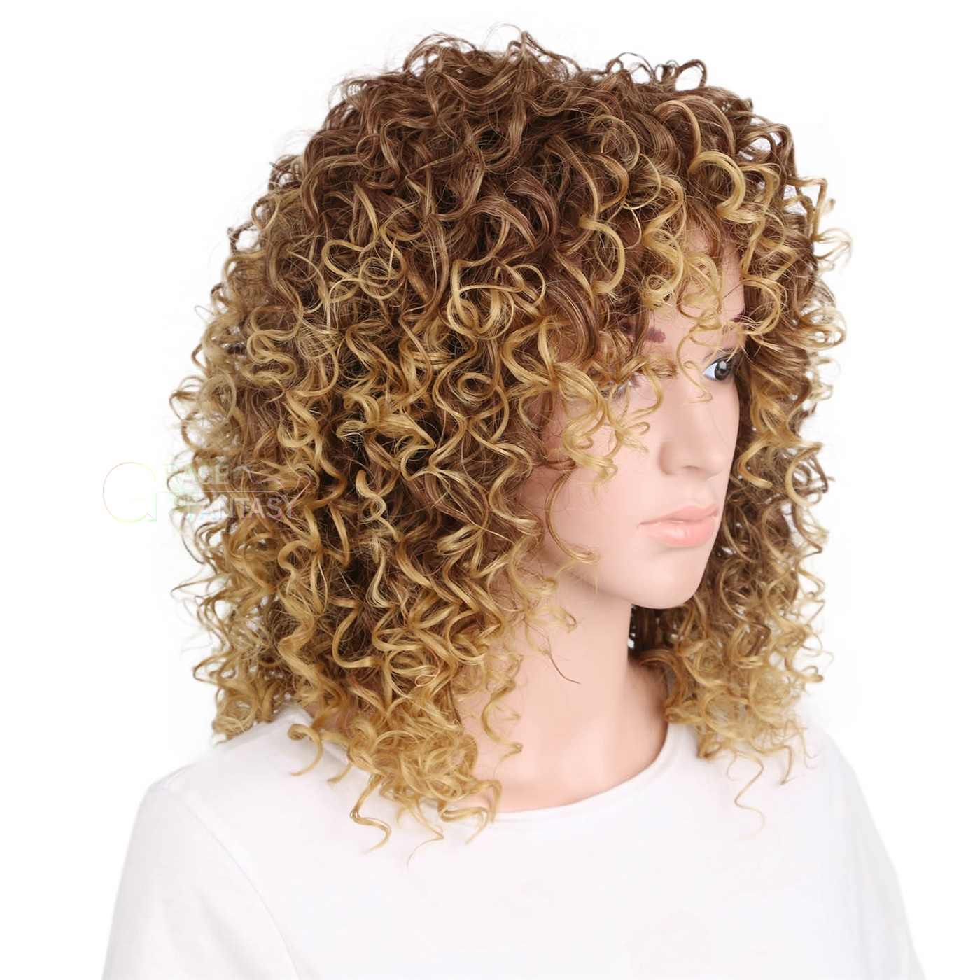 Heat Resistant for African Americans Two Tone Synthetic