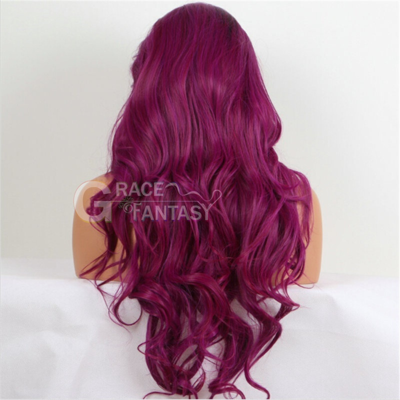 Ombre Long Synthetic Lace Front Wig