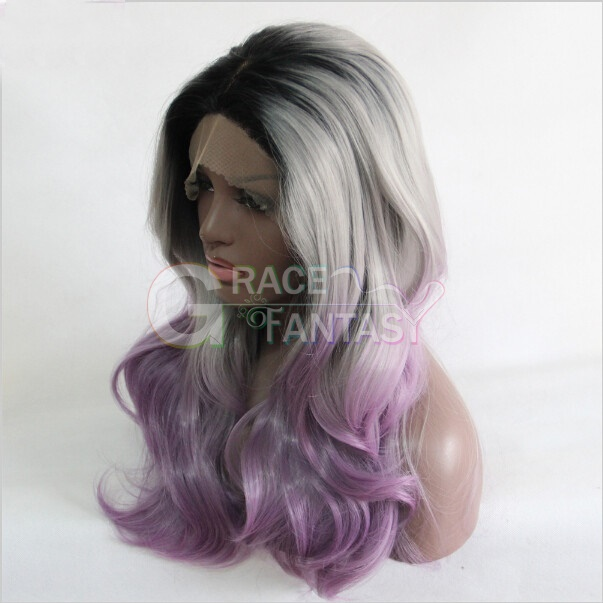 Wave Grey Synthetic Wigs