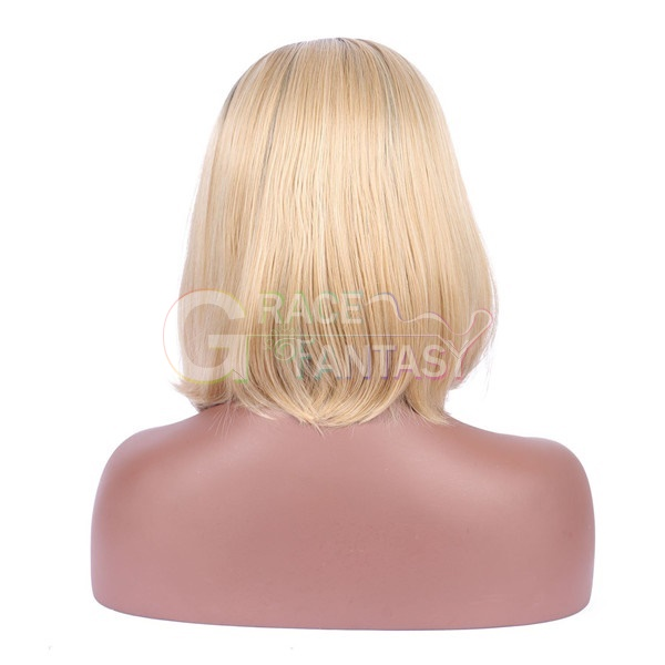Blonde Short Lace Front Wigs