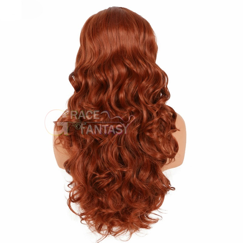 Wavy synthetic lace front wigs