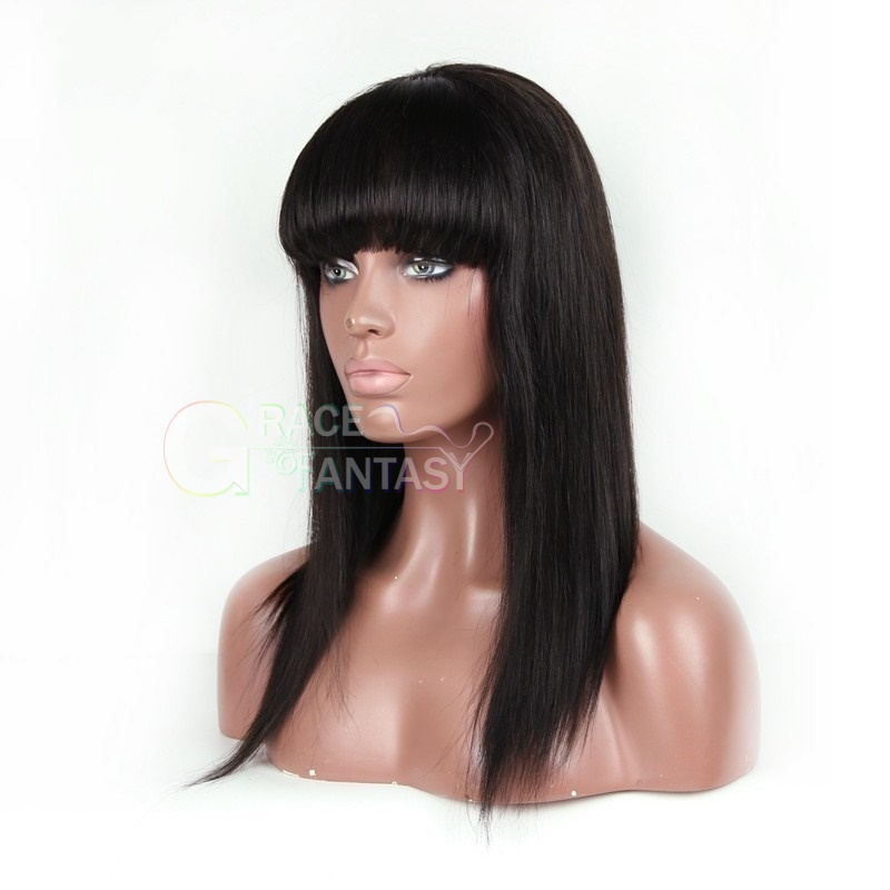 lace front human hair wigs with bangs