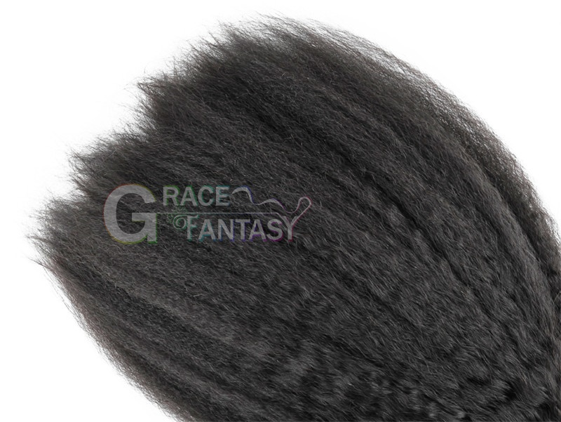 coarse yaki kinky straight hair weaves