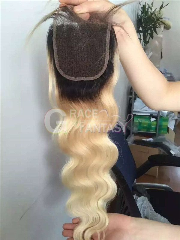 Blonde Top Lace Closures