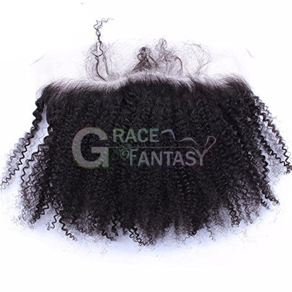 Afro Kinky Curly Lace Frontals with baby hair