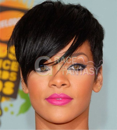 Short Wigs for Women With Bangs