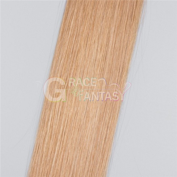 top quality blonde tape in human hair extensions