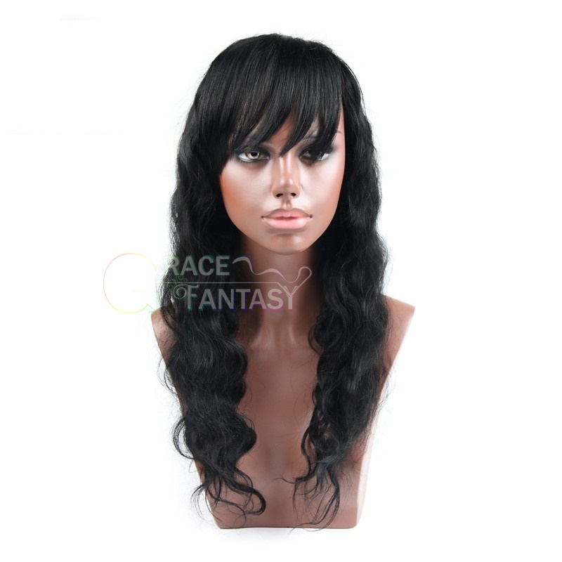 ull lace human hair wigs