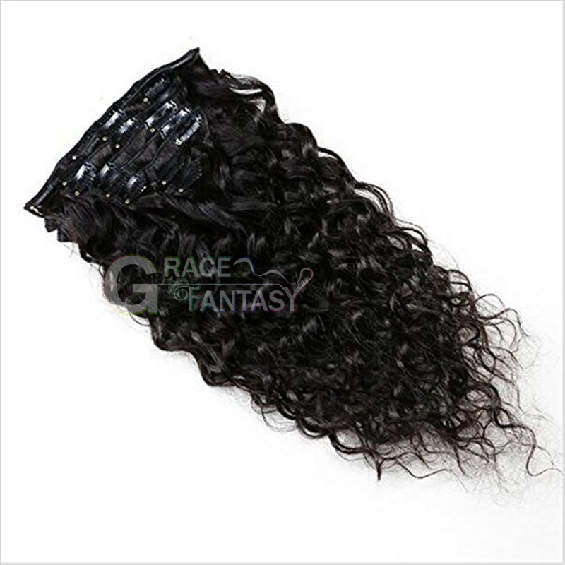 Black Women Natural Curly Hair Clip