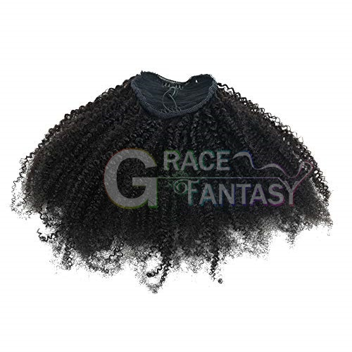 Ponytails Clip In Human Hair Extensions
