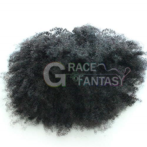 Kinky Curly Ponytails Clip In Human Hair Extensions