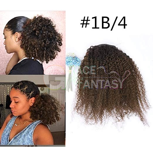 Ponytail Extension One Piece For Black Women