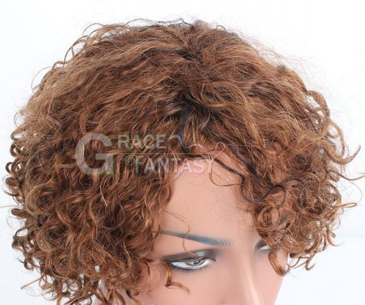 Grace Fantasy Short Bob Lace Front Wigs for Women Natural