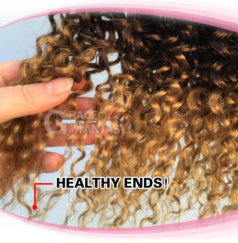 Three Tone 1B 4 27 Indian Weft Hair Extension